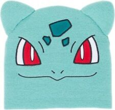 BIOWORLD POKEMON BULBASAUR BIG FACE BEANIE BRAND NEW WITH TAGS HATS SNOW KIDS