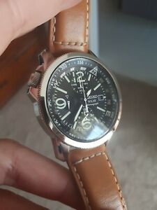Seiko Solar Chronograph Watch SSC081P1