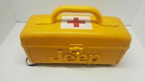 Vintage HR-EK-1A - Jeep Home/Road Emergency Kit (Hard Shell Yellow Case) Rare!