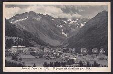BRESCIA PONTE DI LEGNO 58 PONTEDILEGNO VAL CAMONICA Cartolina viaggiata 1939