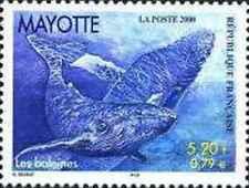 Timbre Faune marine Cétacés Baleines Mayotte 82 ** année 2000 lot 22529