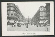 Paris  Avenue de l'Opera