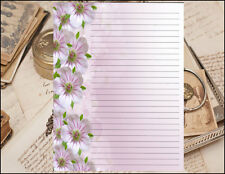 A Classic Designed Floral Edge Lined Stationery Set, 25 sheets and 10 envelopes