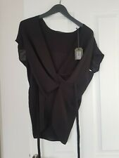 All Saints Black Top Size SMALL