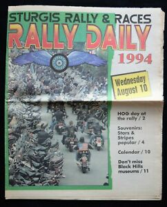 1994 STURGIS RALLY DAILY NEWSPAPER
