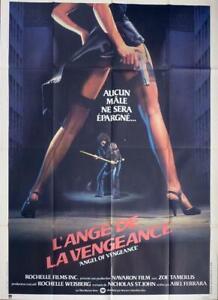 MS. 45 - ANGEL OF VENGEANCE - LEGS / SEXY / GUN / FEMME FATALE - FERRARA POSTER