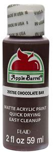 Apple Barrel 2oz Acrylic Paint Multi Surface Gloss Matte Multiple Colors