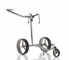 JuCad Carbon 3-Rad - der superleichte Trolley incl. Tasche Neu! silber-schwarz