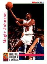 Magic Johnson #340 Hoops USA 1992/93 NBA Basketball Card
