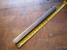 Hensley 1116 W X 18 L Carbide Slant Tooth Machine Keyway Broach 0981 1093