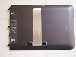 OEM LG OPTIMUS G SLATE PAD V900 V909 3D TABLET BATTERY DOOR BACK COVER