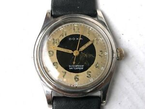 DOXA SWISS MILITARY *** VINTAGE WORKING CONDITIONS