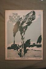 THE BOOK NEWS MONTHLY rare antique old magazine red cross nurse marie van vorst