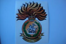 """ROYAL REGIMENT OF FUSILIER S  STICKERS   X 2 BRITISH ARMY 5""""   BADGES MILITARY"""