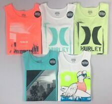 L Teal Ombre Hurley Boys Graphic Tank Top