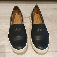 Calvin Klein Slip On Trainers/Shoes Black 4