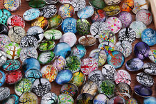 wholesale 100pc 18mm life tree Interchangeable glass Buttons Snap Charms Jewelry