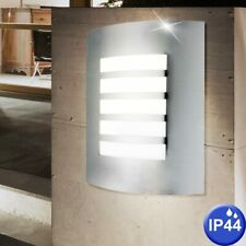 PIR IN ACCIAIO INOX DOPPIA PARETE LUCE IP44-LED Luce di Sicurezza Compatibili