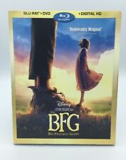 BFG, The (Big Friendly Giant) (Blu-ray+DVD+Digital HD, 2016) NEW w/ Slipcover