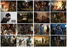 Telltale's The Walking Dead Posters Home Decor Wall Art Game Print A3 A4 5x7