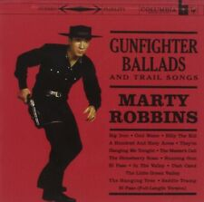 MARTY ROBBINS     -    GUNFIGHTER BALLADS AND TRAIL SONGS       -      NEW CD