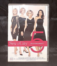 Sex And The City - Fifth Season (Five) - Disc 2 - DVD - Region 4