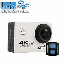 4K Ultra HD 30FPS Action Camera w/ LCD, Remote, Waterproof Case, Mounts & MORE