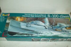 REVELL  GERMAN FAST ATTACK CRAFT S-100    1:72 scale  kit