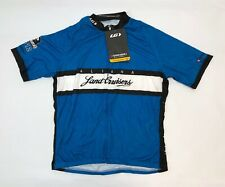 Louis Garneau Aliana Land Cruisers Cycling Classic Jersey Men 2X Large Blue NEW