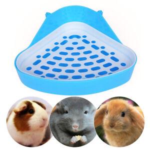 Pet Toilet Small Animal Corner Litter Pan Tray For Rabbit Hamster Guinea Pig