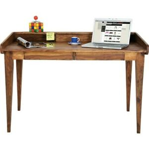 Boston Natural Contemporary Solid Wood Study Desk Hall Table (MADE TO ORDER)