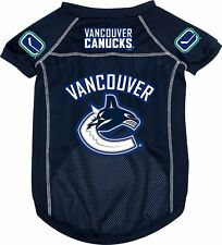 Vancouver Canucks NHL X-Large XL Mesh Pet Dog Jersey~SEE AD for SIZE/Measurement