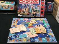2001 Monopoly Europa Edition Replacement Parts//Pieces-Your Choice!