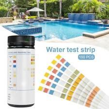 100 Stücke Englisch Version Test Wasserqualität Schwimmbadwasser Teststreifen
