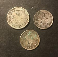 Hong Kong Silver Coins