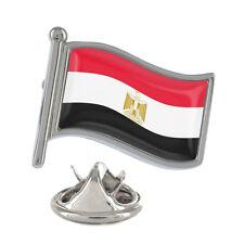 Egypt Wavy Flag Pin Badge Egyptian Cairo Sharm el?Sheikh Luxor New & Exclusive