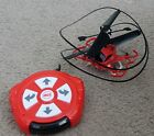 Little Tikes red FIRE RESCUE My First Drone Quadcopter, flies good
