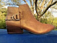 NAKED FEET The Laredo Gold Speck Cowboy Line Dance BRAND NEW Shoes Women Sz 10