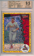 1999 Ultimate Victory Parallel 1/1 Missing Serial Number Mark McGwire BGS 9.5