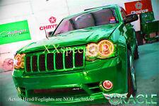 ORACLE for Jeep SRT8 08-10 WHITE LED TRIPLE Head/Foglight Halo Angel Eyes Kit