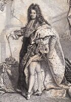 Louis XIV Roi Soleil Versailles Roi de France 1858 Людо́вик XIV де Бурбо́н