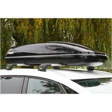 Thule Ocean 600 Car Roof Top Box  Black - FREE FITTING - Half Width Box