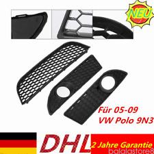 Für VW Polo 9N3 Stoßstangengitter Frontgrill Set GTI Wabengitter 05-09 Wabengril