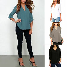 Blouse V Neck Unbranded Tops & Shirts for Women