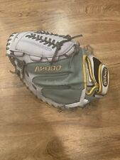 Wilson A2000 Fast Pitch 34� Catchers Mitt Fpcm Wta20Rf15Cm14Ss Never Used