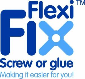 Croydex Flexi-Fix Esher Towel Ring