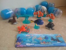 Finding Dory - Disney Finders Keepers Capsule Toys - Complete set of 8