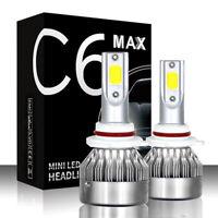 2pcs C6 MAX H13 36w 3800LM LED Headlight Bulbs Super Bright High &Low beam Light