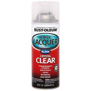 Rust-Oleum Automotive 11 oz. Acrylic Lacquer Gloss Clear Spray Paint