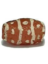 ANCIENT RARE ETCHED CARNELIAN BEAD.